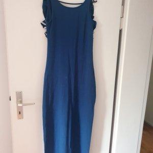 BSB Jeans Robe longue bleu acier