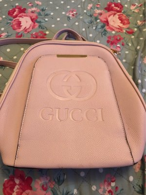 Gucci Wandelrugzak lichtroze Leer