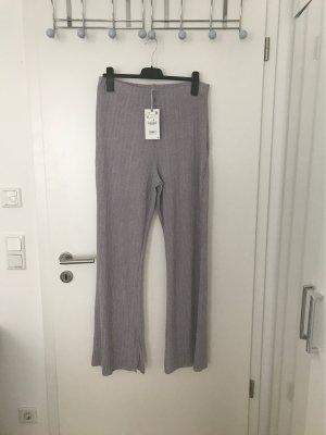 Zara Pantalone elasticizzato viola-lilla
