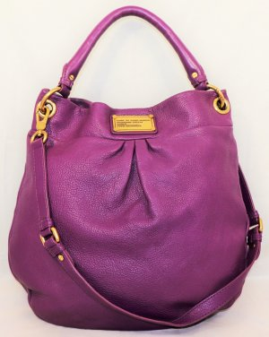 Marc by Marc Jacobs Bolsa Hobo lila Cuero