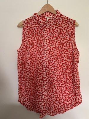 Schöne ärmellose Bluse, Größe XL