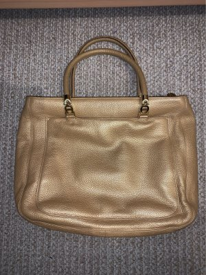 Aigner Crossbody bag gold-colored leather