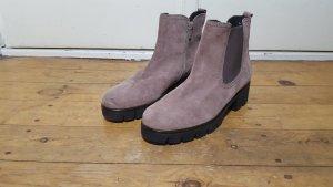 Gabor Winter boots stoffig roze Leer