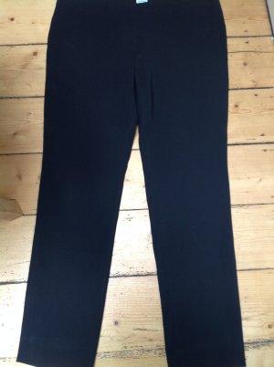 Armani Collezioni Pantalon en jersey noir tissu mixte