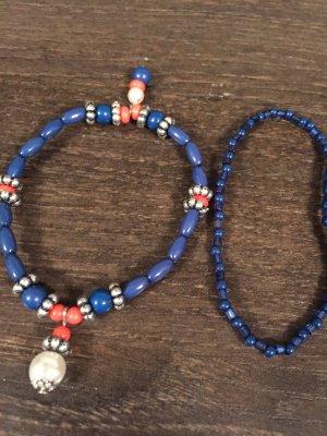 Bracelet bleu-bleu foncé