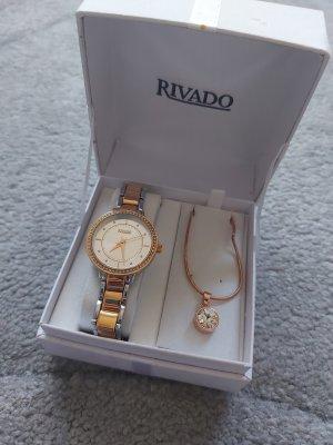 schöne Armbanduhr mit Kette