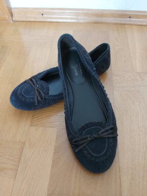Car Shoe Classic Ballet Flats dark brown