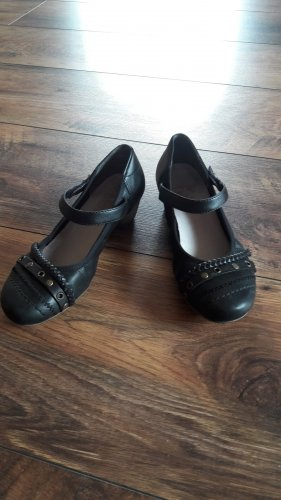 Rieker Strappy Ballerinas black