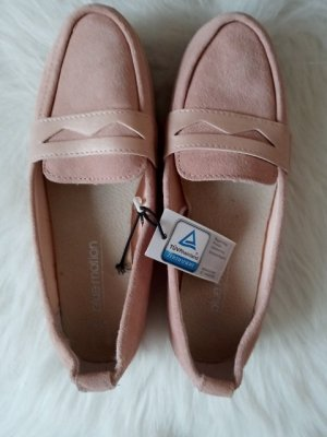 Blue Motion Moccasins pink leather