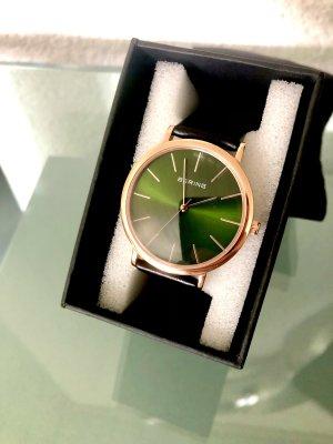 Schöne Bering Armbanduhr British Green