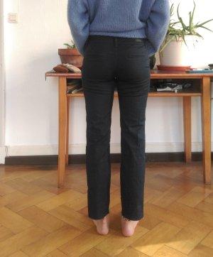 Mac Pantalone chino blu Cotone