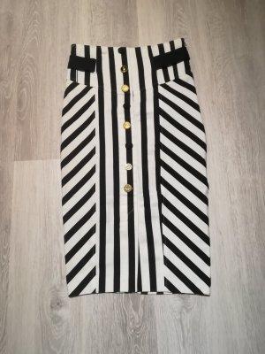 Pencil Skirt white-black