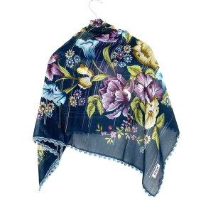 Schöne Blumen Hals schal Tuch