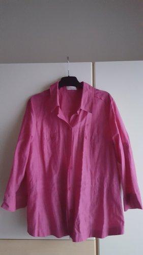 Bonita Blusa de cuello alto rosa