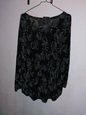 Gina Long Sleeve Blouse white-black