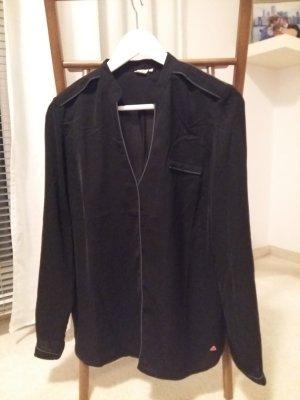 Skunkfunk Tunique-blouse noir-gris ardoise