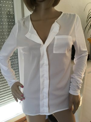 BC Collection Tie-neck Blouse natural white-white