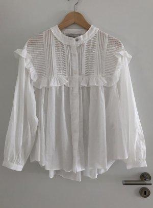 Schöne Bluse Boho flowy oversized von Zara Gr. XS/S NEU