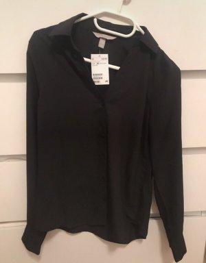 H&M Colletto camicia nero