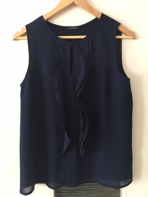 Schöne Bluse in Blau, Gr. 36