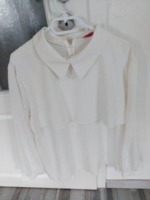 unbekannte Colletto camicia bianco