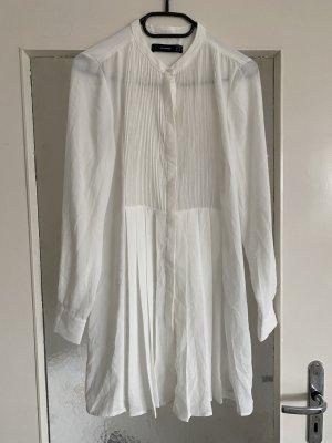Hallhuber Long Sleeve Blouse white
