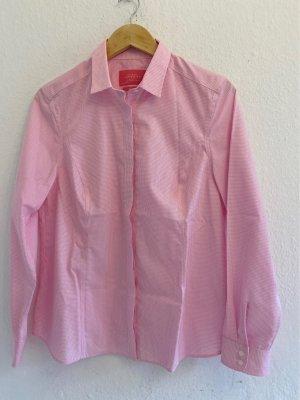 Charles Tyrwhitt Long Sleeve Shirt white-light pink cotton