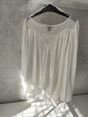 H&M Basic Blusa in merletto multicolore