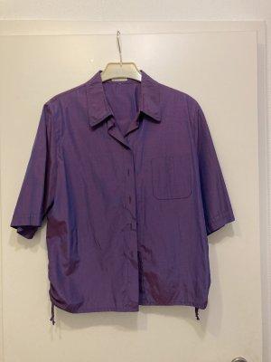 La Strada Glanzende blouse veelkleurig