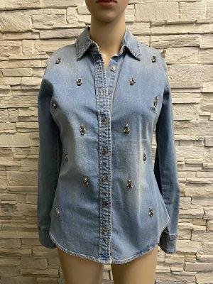 Schöne Bluse von Mandarin Heine Gr 34