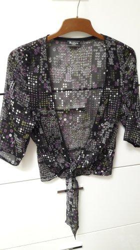 Anastacia by s.Oliver Transparante blouse zwart