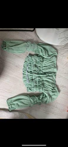SheIn Bodysuit Blouse lime-green
