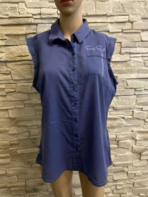 Soccx Short Sleeved Blouse blue