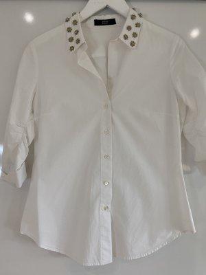 Steffen Schraut Colletto camicia bianco