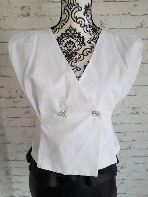 Schöne Bluse weiß Zara Größe S