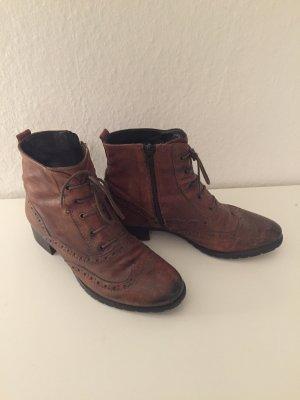 Helen Billkrantz Ankle Boots brown