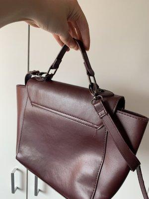 Schöne bordeaux Tasche