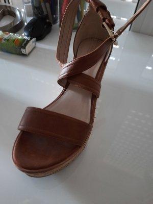 Aldo High Heel Sandal brown