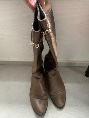 Schöne braune Stiefel vom Magazzino Gr. 39
