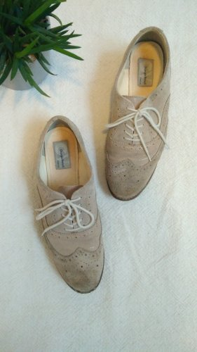 Giorgio Venuti Wingtip Shoes oatmeal