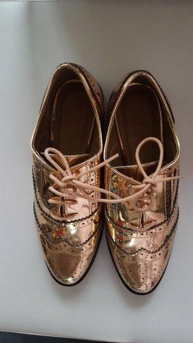 Asos Budapester w kolorze różowego złota