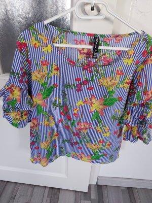 Takko Camicetta con arricciature multicolore