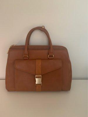 Zara Funda para portátil marrón