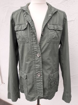 Cecil Safari Jacket khaki cotton