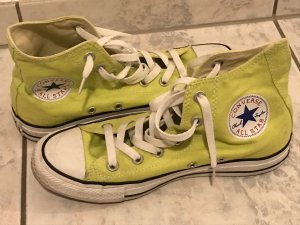 Converse Lace-Up Sneaker neon yellow