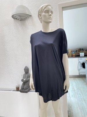 COS Robe tunique noir coton