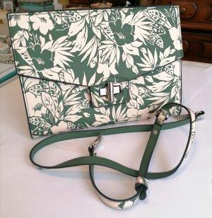 Schöne Crossbody-Tasche, ungetragen von Violeta by Mango im floralen, ungewöhnlichen Design