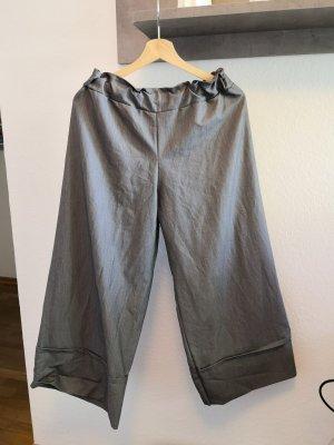 Schöne Culotte grau made in Italy Hose Damen M 38
