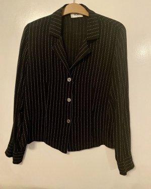Wallis Cols de blouses noir-blanc