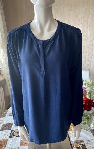Selected Bluzka z długim rękawem ciemnoniebieski